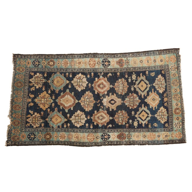"Antique Malayer Rug Runner - 3'8"" x 6'10"" For Sale"