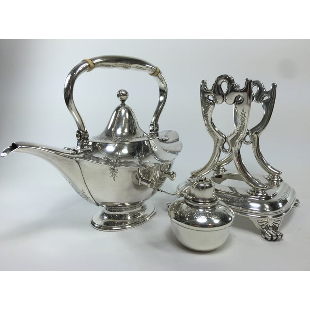 Tiffany & Co. Antique Sterling Silver Tea Pot - Image 11 of 11