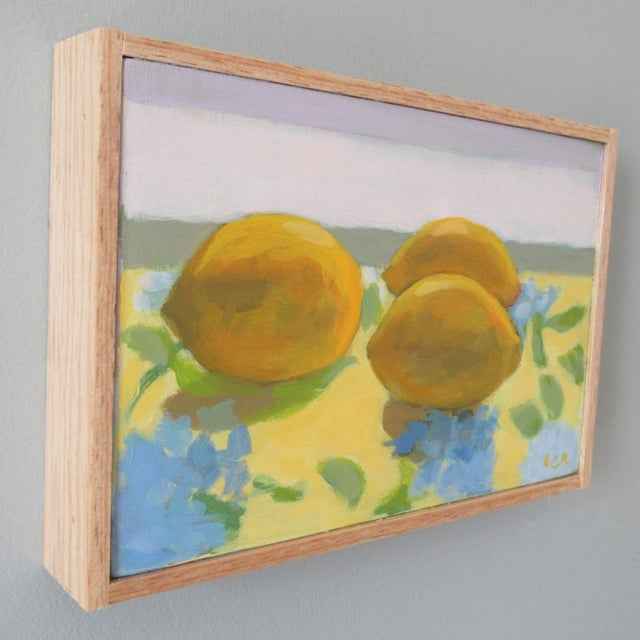 Impressionist Lemon Light by Anne Carrozza Remick For Sale - Image 3 of 6