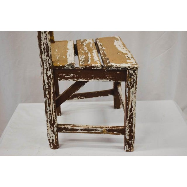 Late 20th Century Vintage Child's Chair For Sale - Image 5 of 13
