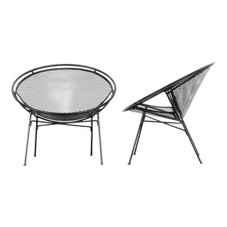 "1950s Salterini ""Radar"" Chairs - A Pair For Sale"