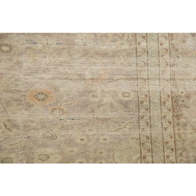 "Vintage Sivas Carpet - 8'4"" X 12'6"" For Sale In New York - Image 6 of 13"