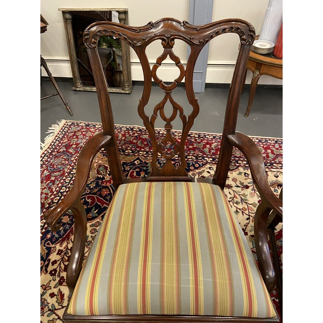 Mid 20th Century 20th Century Henkel Harris Armchairs - a Pair For Sale - Image 5 of 10
