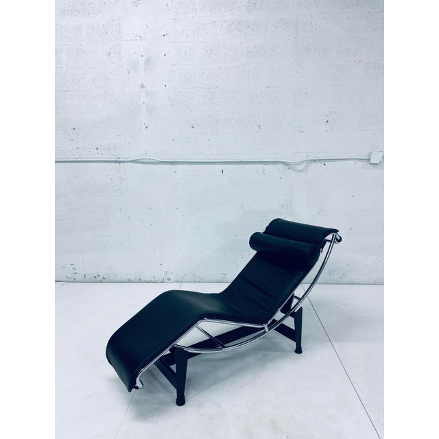 Lc4 Le Corbusier Chaise Lounge for Cassina For Sale - Image 11 of 12