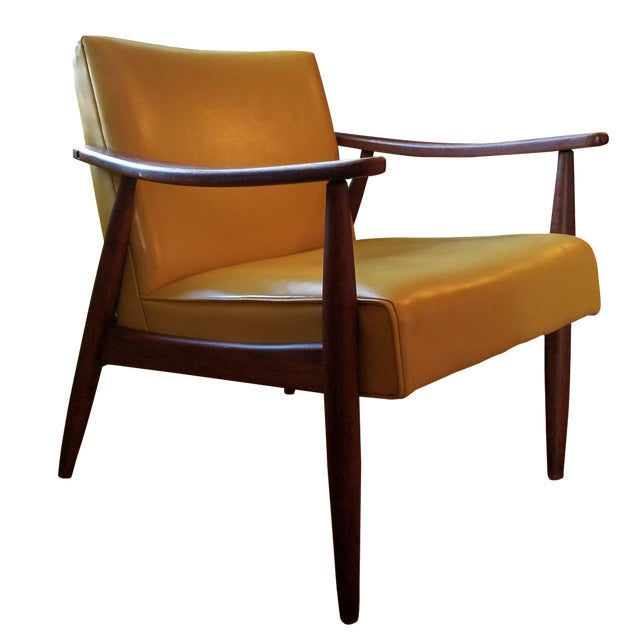 Mid-Century Modern Lounge Chair - Image 1 of 4