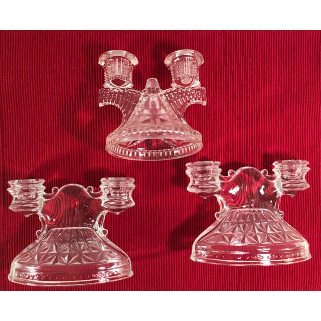 Art Deco Candle Holders - Set of 3 - Image 2 of 9