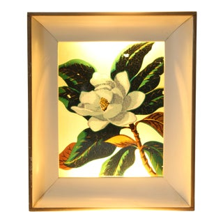 Backlit Reverse Painted Wall Art For Sale