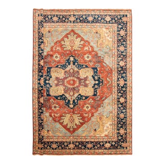 Traditional Hand-Knotted Wool Rug- 12′3″ × 15′ For Sale