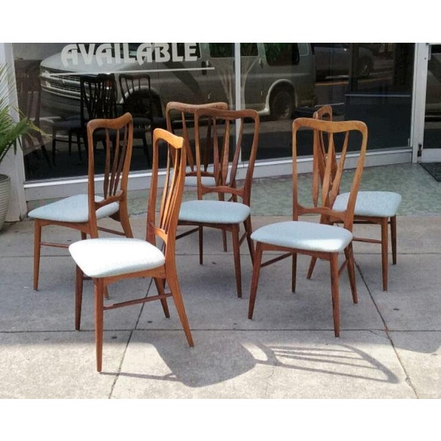 Koefoeds Hornslet Ingrid Dining Chairs - Set of 6 - Image 3 of 7