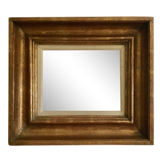 Vintage Gold Leaf Deep Frame For Sale