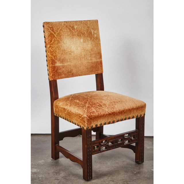 20th Century Spanish Renaissance Revival Dining Room Set For Sale - Image 9 of 10