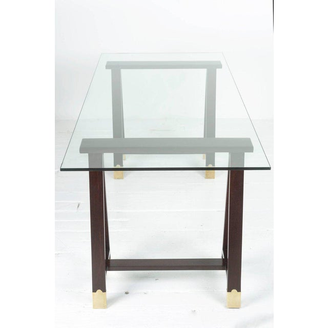 Arturo Pani Trestle Table For Sale In New York - Image 6 of 8