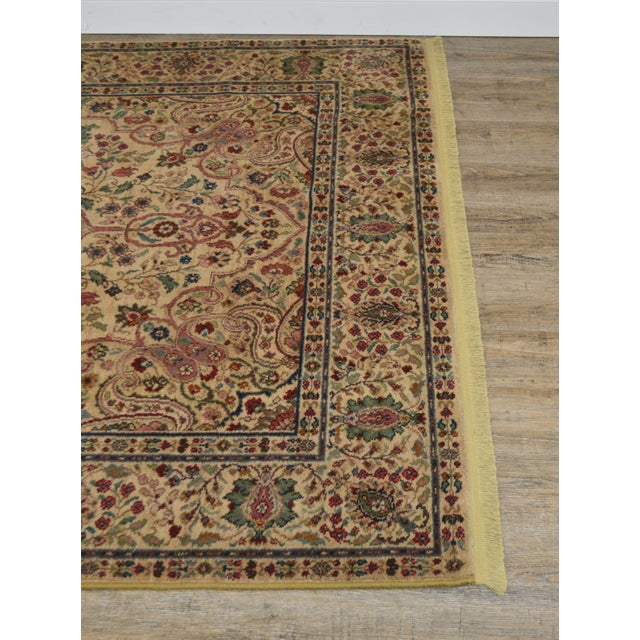 Karastan Tabriz Medallion Samovar Tea Wash 5'9 x 9' Rug For Sale - Image 4 of 12