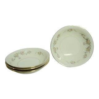 "Vintage Mid 20th Century Homer Laughlin ""Georgian"" Cake/Appetizer/Dessert Bowls, Usa - Set of 4 For Sale"