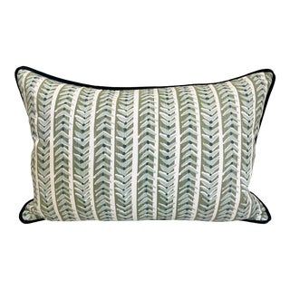 Bespoke Maine Cottage Down Feather Lumbar Pillow For Sale