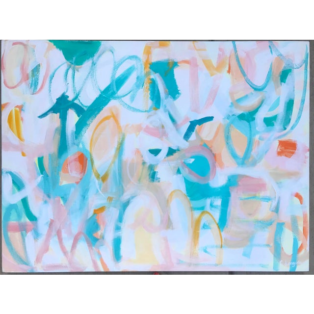 Mojave Desert Contemporary Abstract Painting For Sale - Image 4 of 4