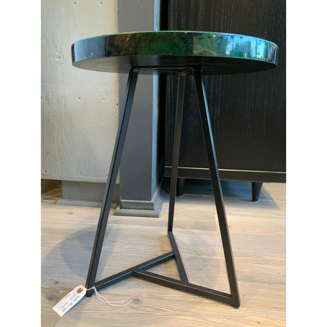2020s Contemporary Capiz Side/Cocktail Table For Sale - Image 5 of 7