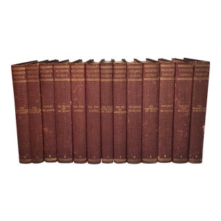 1902 Alexander Dumas Books - Set of 13