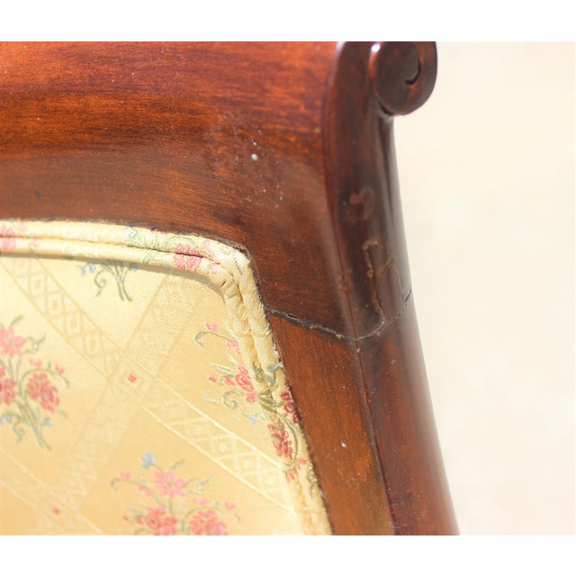 French Charles X Revival Dining Chairs - Set of 6 For Sale - Image 10 of 13