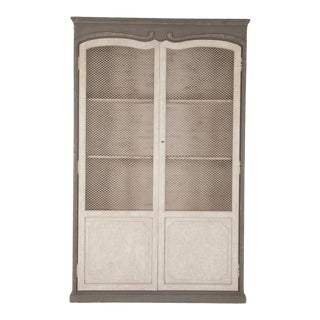 Vale Cabinet in Gray For Sale