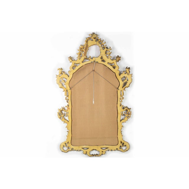 French Louis XV Style Carved Giltwood Antique Mirror - Image 9 of 10