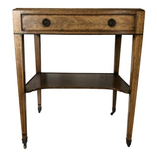 Vintage Caledonian Inc. English Side Table For Sale