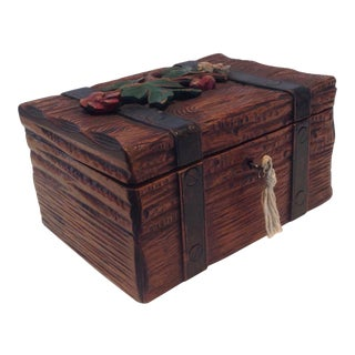 19th Century Black Forest Cigar Box For Sale