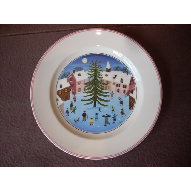 """Made in Germany by Villeroy & Boch founded in 1748 in Luxembourg, """"Royale et Imperiale Manufacture"""" in the festive """"Naif..."""