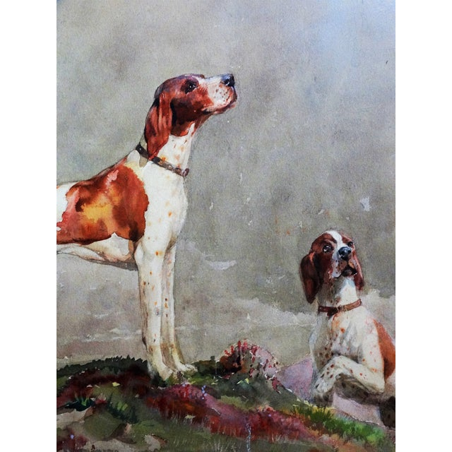 Sporting Dogs in a Highland Landscape For Sale In Houston - Image 6 of 9