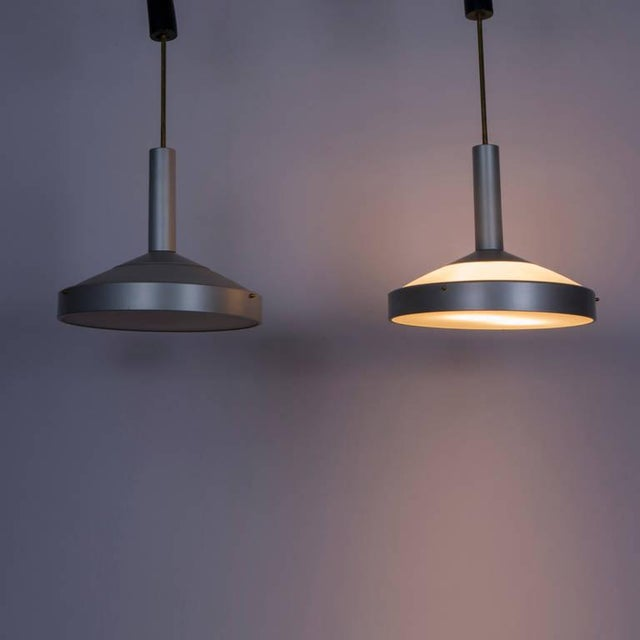 Pair of Two Pendant Lamps by Stilux For Sale - Image 9 of 9