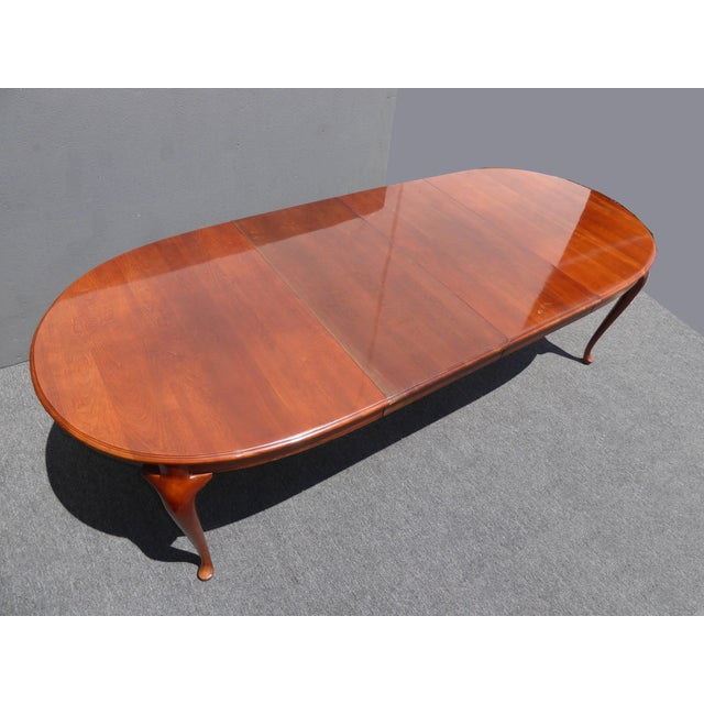 American of Martinsville Dining Room Table - Image 6 of 11