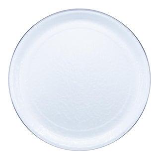 Medium Tray White on White For Sale