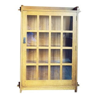 Stickley Single Door Bookcase For Sale