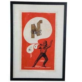 Fireman Art Textile Poster For Sale