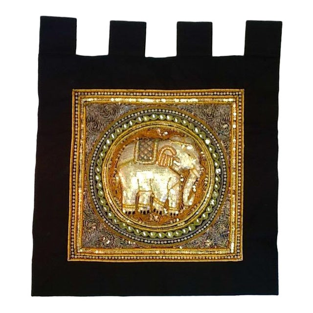 Vintage Elephant Tab Top Wall Hanging - Image 1 of 7