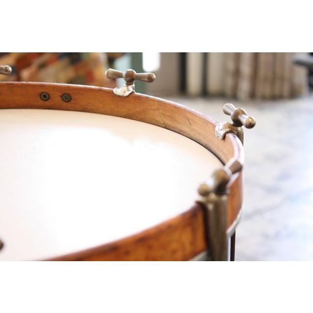 Mid-Century Modern 1930'S U.S. Military Rod Drum For Sale - Image 3 of 3