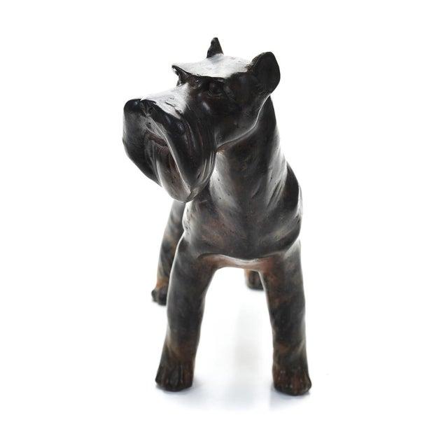 1920s Bronze Scottie Dog Sculpture - Image 2 of 9