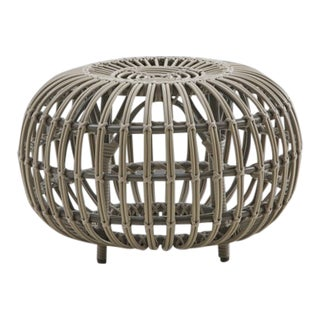 Franco Albini Small Exterior Ottoman - Moccachino For Sale