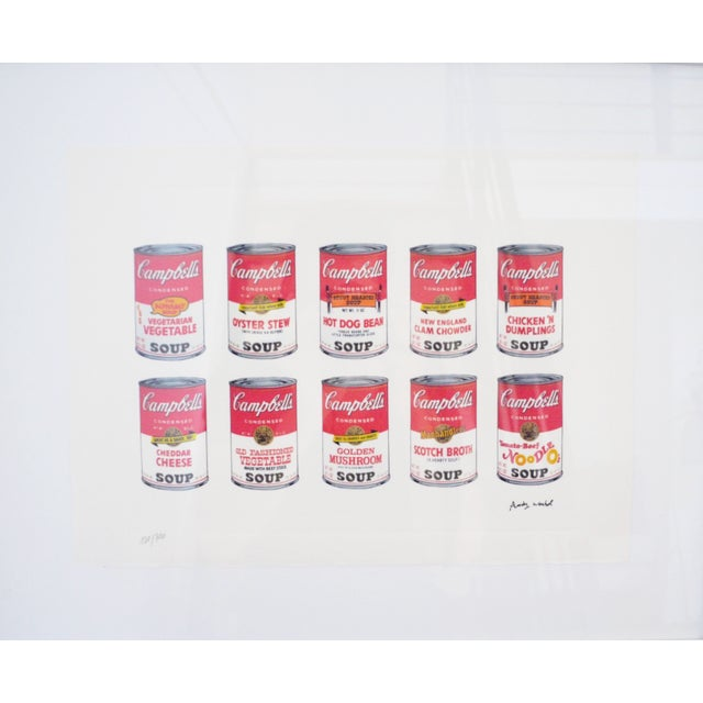 Andy Warhol Campbell's Soup Cans - Image 1 of 4