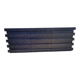 Restoration Hardware Modern Stacked Sideboard For Sale