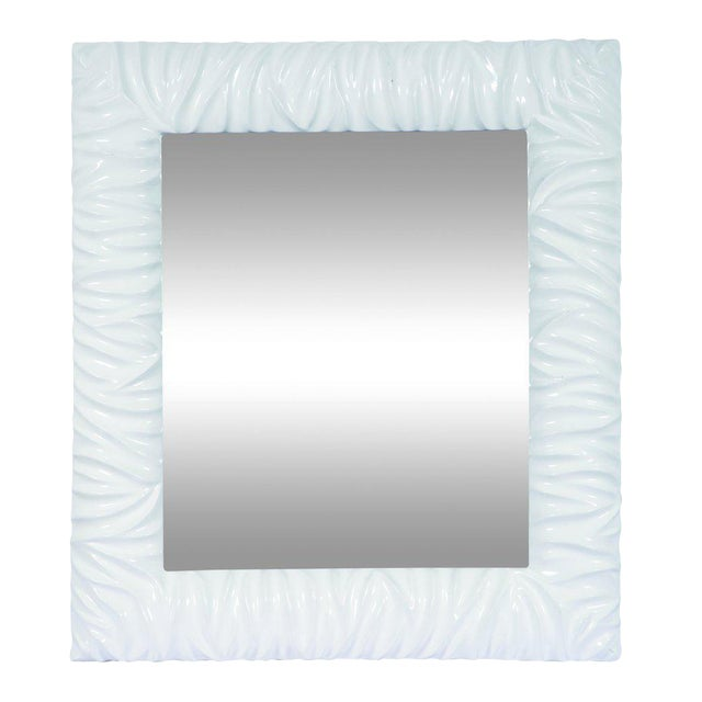 Lola Contemporary Wall Mirror For Sale