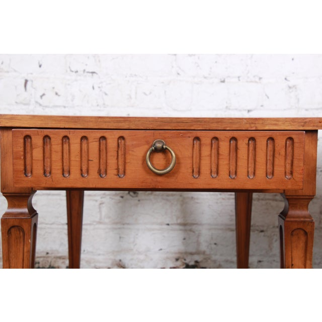 Metal Baker Furniture Milling Road French Regency End Tables, Pair For Sale - Image 7 of 12