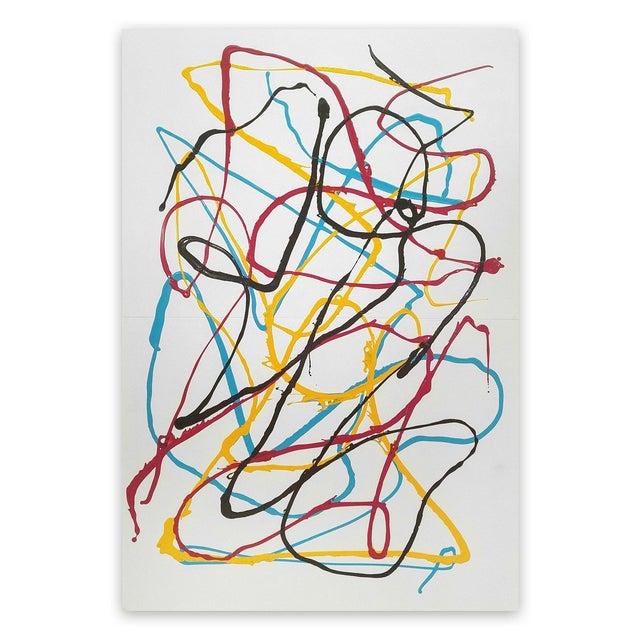 """Dana Gordon Dana Gordon """"East River Refrain"""", Painting For Sale - Image 4 of 4"""