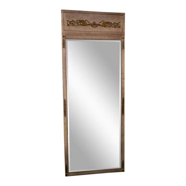 Early 19th Century Neoclassical Full Length Mirror For Sale