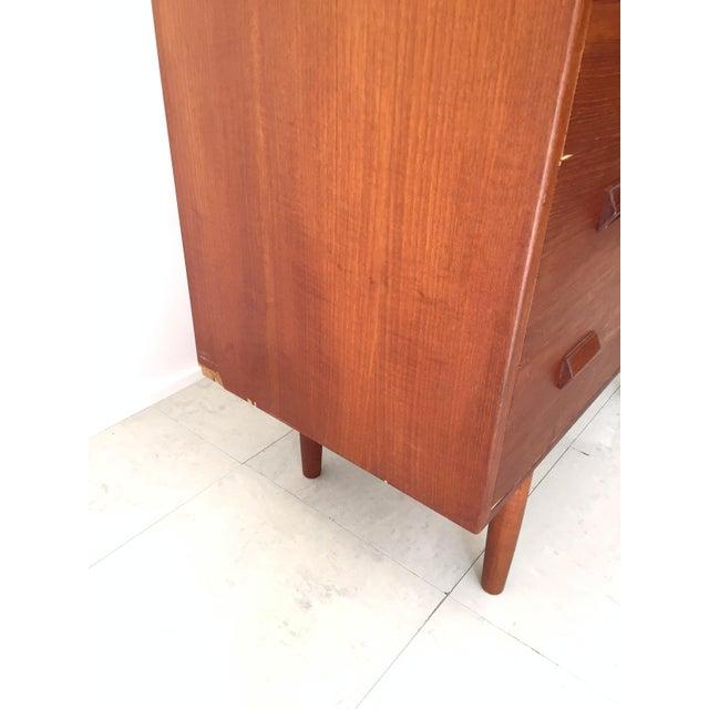 Børge Mogensen Teak Highboy Dresser For Sale - Image 7 of 8