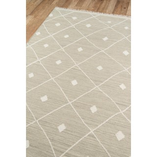 "Erin Gates by Momeni Thompson Appleton Sage Hand Woven Wool Area Rug - 5' X 7'6"" Preview"