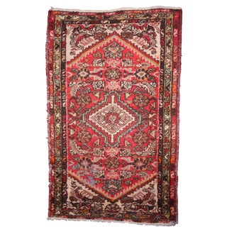 Early 20th Century Vintage Turkish Rug- 2′4″ × 4′ For Sale