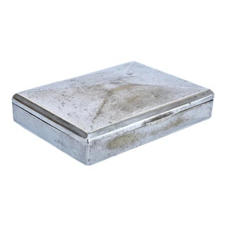 Silver Plated Box For Sale