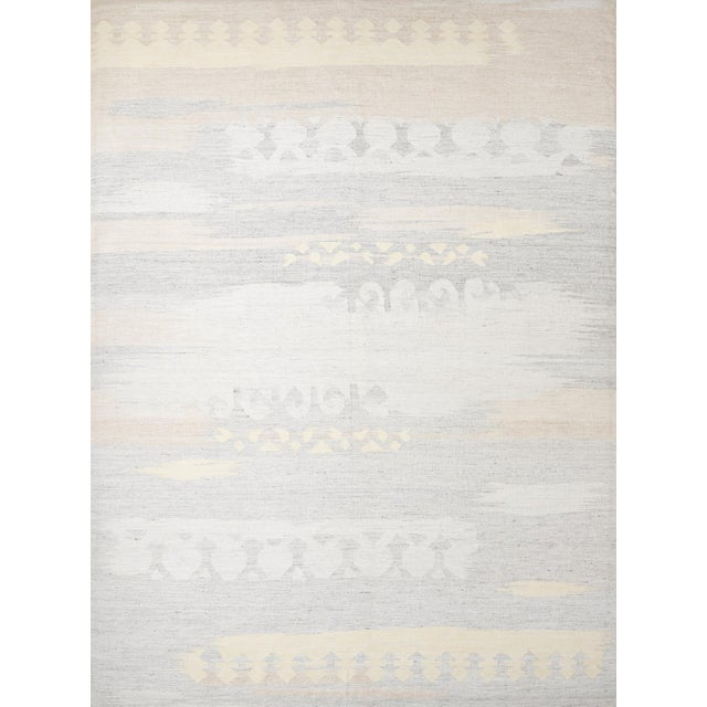 Yellow Schumacher Pernilla Hand-Woven Area Rug, Patterson Flynn Martin For Sale - Image 8 of 8
