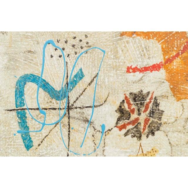 1960s Kishio Murata Painting For Sale - Image 5 of 11